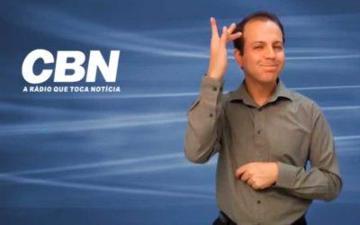 Rádio CBN em parceria com a ONG Vez da Voz lança o projeto Rádio emLibras