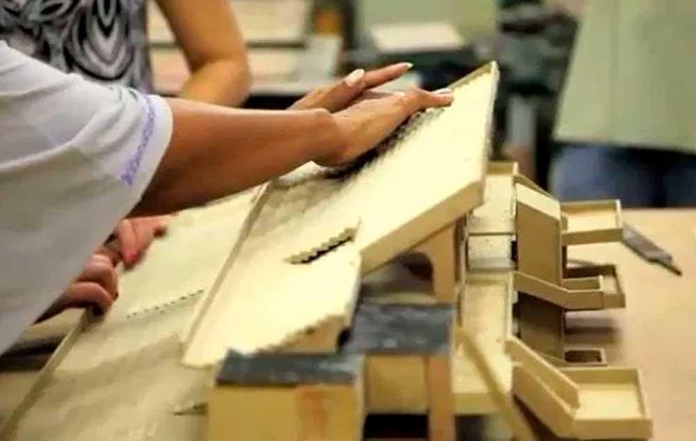 FMU apresentou maquetes táteis do Carnaval 2011 para pessoas com deficiência visual