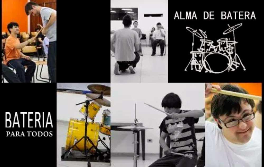 Projeto Alma de Batera. Fazendo repercutir a inclusão através da música.
