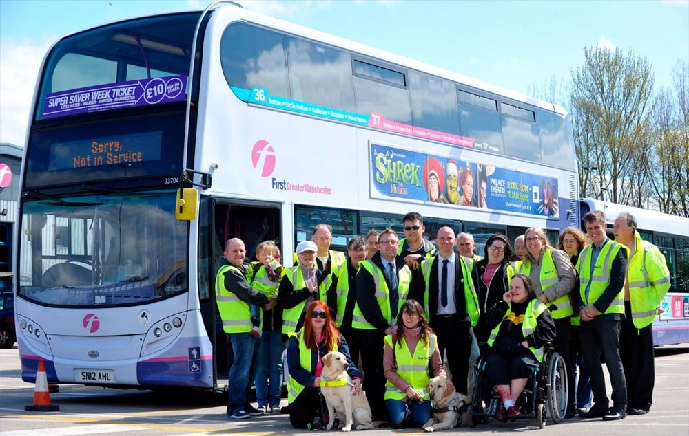 Bus Travel and the Blind or Visually Impaired