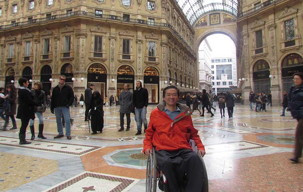 Galleria Vittorio Emanuele II, um dos principais atrativos turísticos acessíveis de Milão