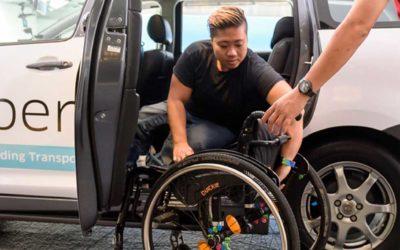 Cómo funciona el servicio inclusivo de Uber para trabajadores y clientes discapacitados