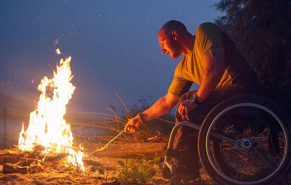Fogueira, acessibilidade e inclusão