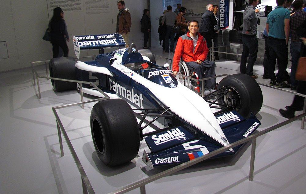 Fórmula 1 de Nelson Piquet no Museu da BMW em Munique
