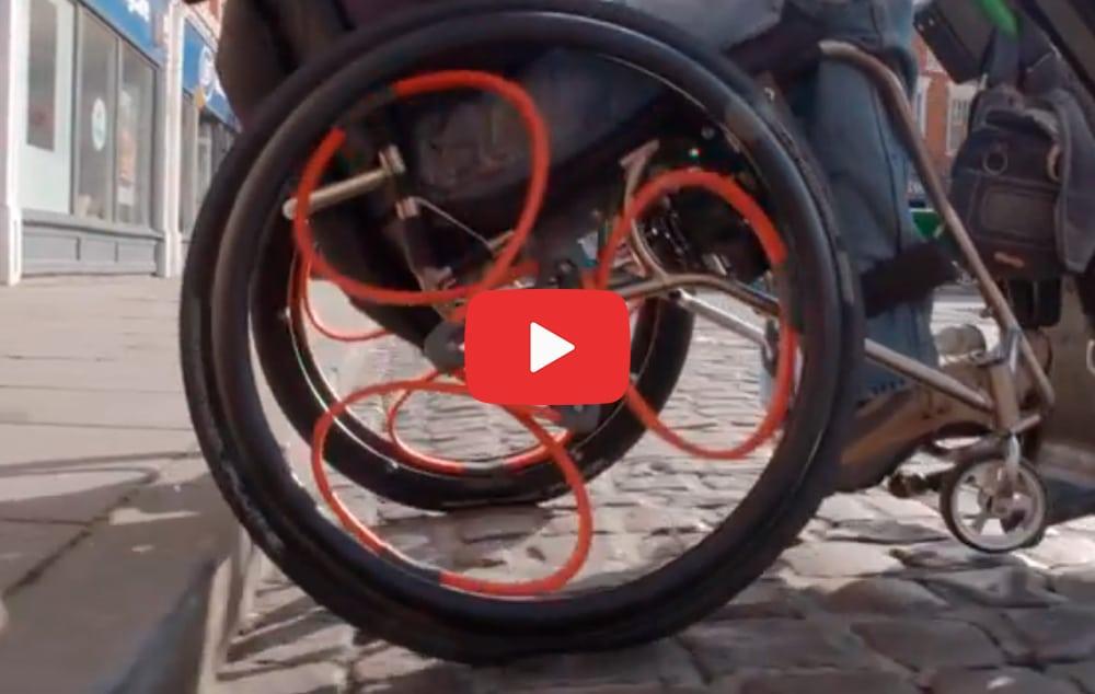 Loopwheels a roda com amortecedor