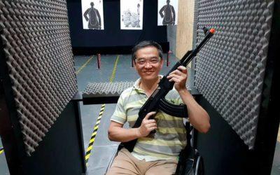 Estande de tiro recreativo e acessível. Que tiro foi esse?