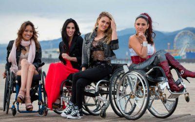 Mulheres com deficiência. Homenagem ao Dia Internacional da Mulher.