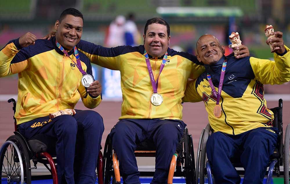 Cobertura do Brasil no Parapan. Acompanhe as vitórias brasileiras!