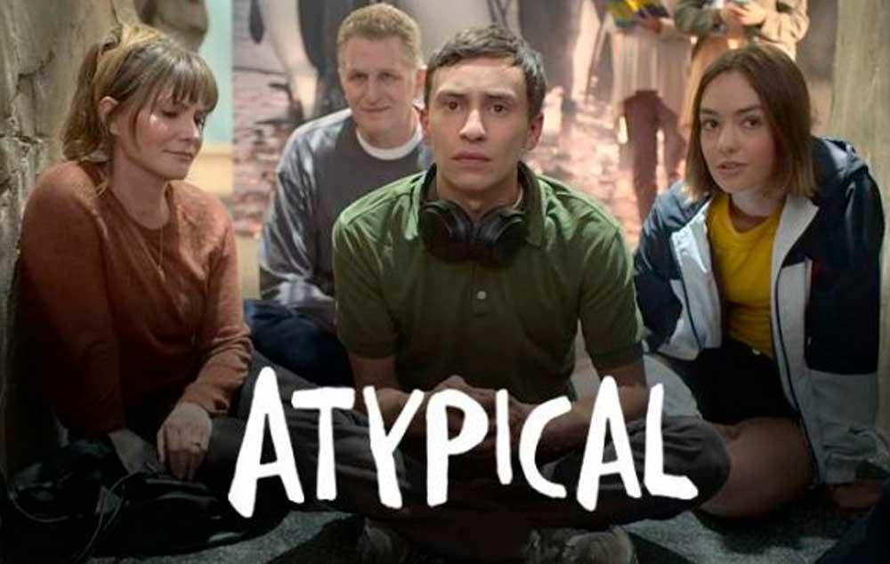 O Universo Autista no Netflix. Atypical mostra a vida de um jovem autista em uma série.