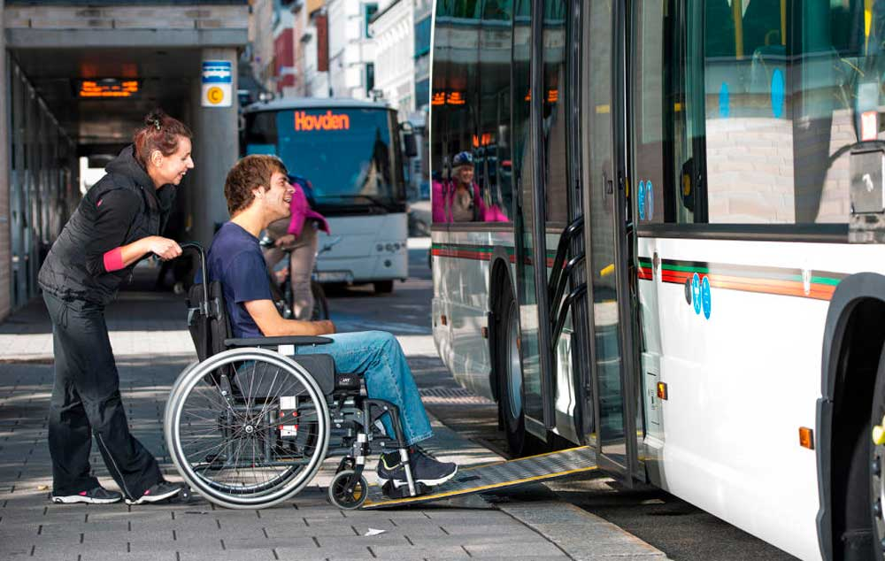 Norway accessible transport. Mobility for your travel without barriers.