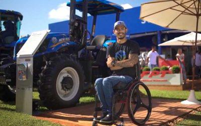 Trator para deficientes. A indústria de máquinas agrícolas e a proposta de um produto inovador.