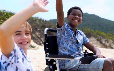 Chegará Dezembro com Divinità. Facilitando a inclusão sobre rodas.
