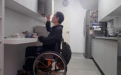Casa adaptada para cadeirantes. Como construir sem comprometer o orçamento.