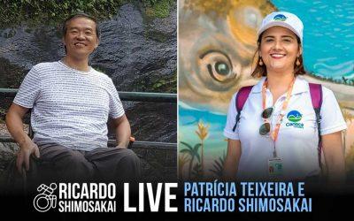 Live com PATRÍCIA TEIXEIRA