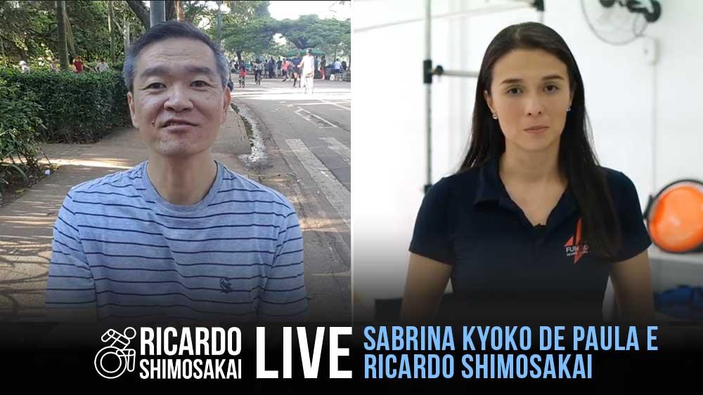 Live com SABRINA KYOKO DE PAULA