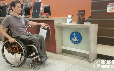 Bilheteria acessível inútil. Não basta somente existir, tem que funcionar!