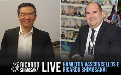 Live com HAMILTON VASCONCELLOS
