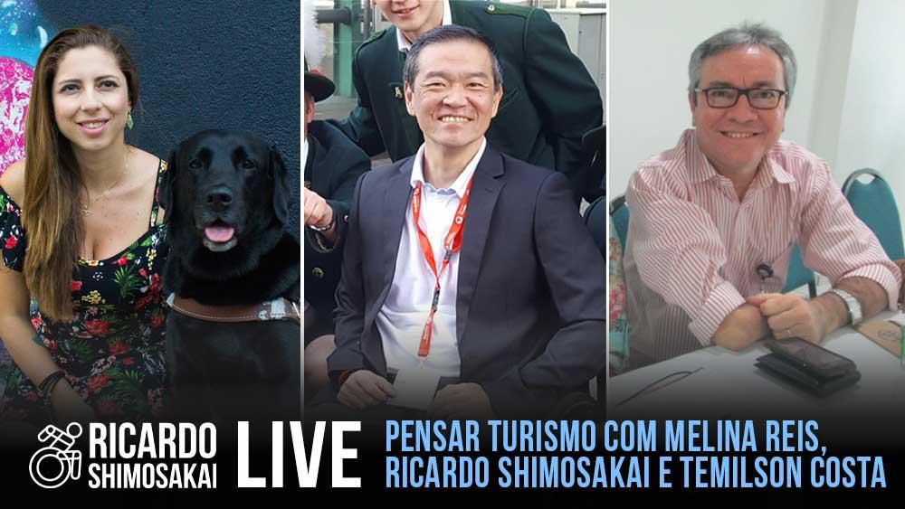 Live com PENSAR TURISMO