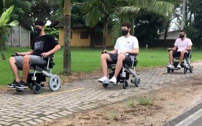 Vantagens de usar cadeira motorizada. A independência ao mínimo esforço.
