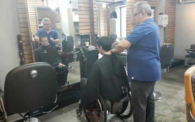 Acessibilidade e inclusão na barbearia. Adaptações para um atendimento inclusivo.