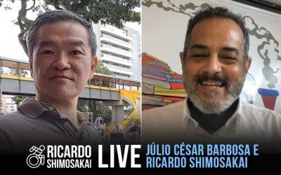 Live com JULIO CESAR BARBOSA