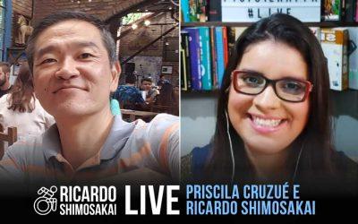 Live com PRISCILA CRUZUÉ