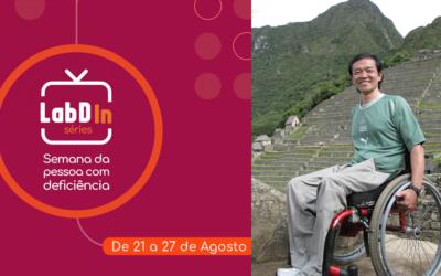 Laboratório de Design Inclusivo Séries. Acessibilidade no turismo com Ricardo Shimosakai.
